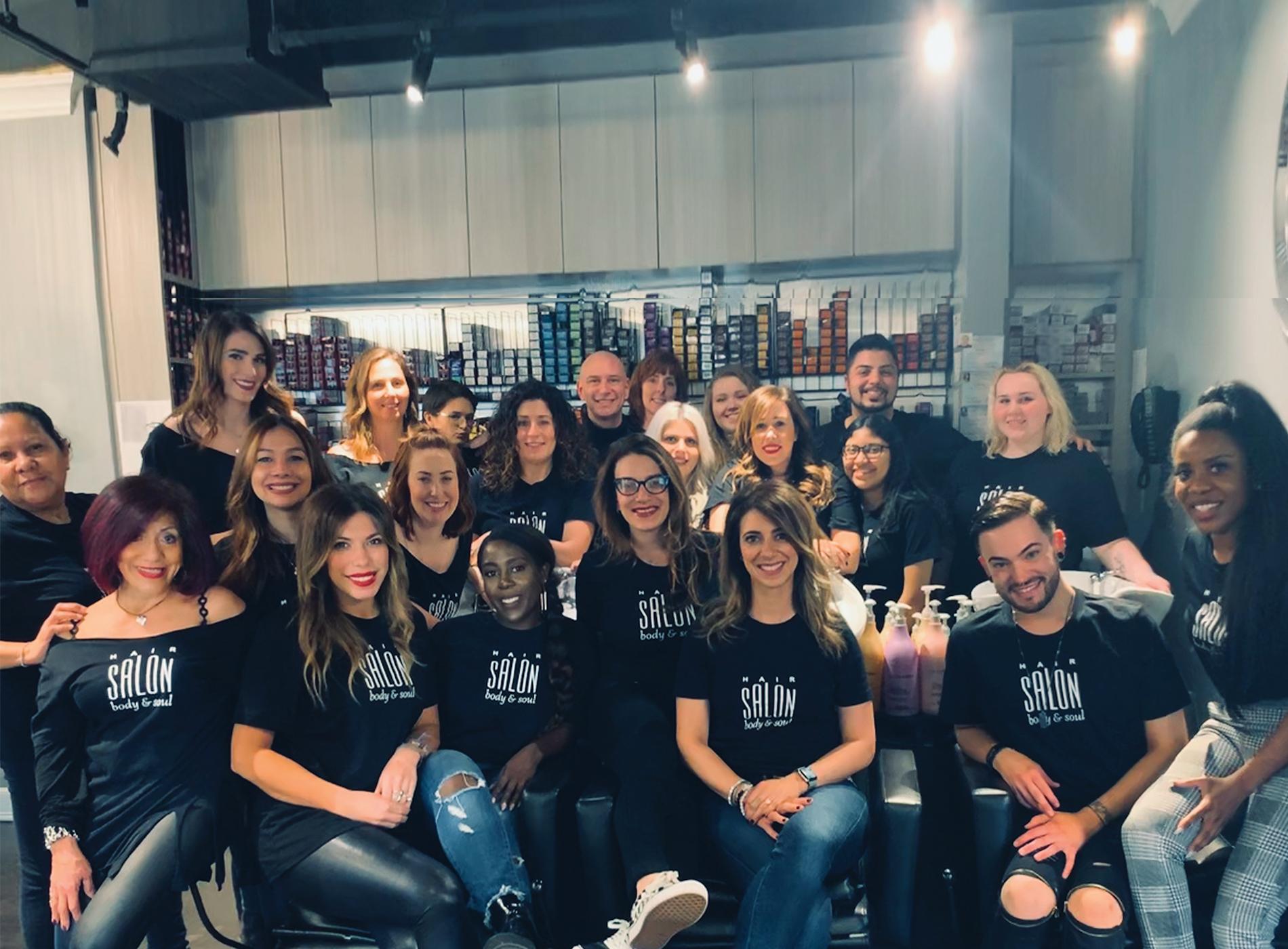 Hair Salon Body and Soul Team, New Providence, NJ